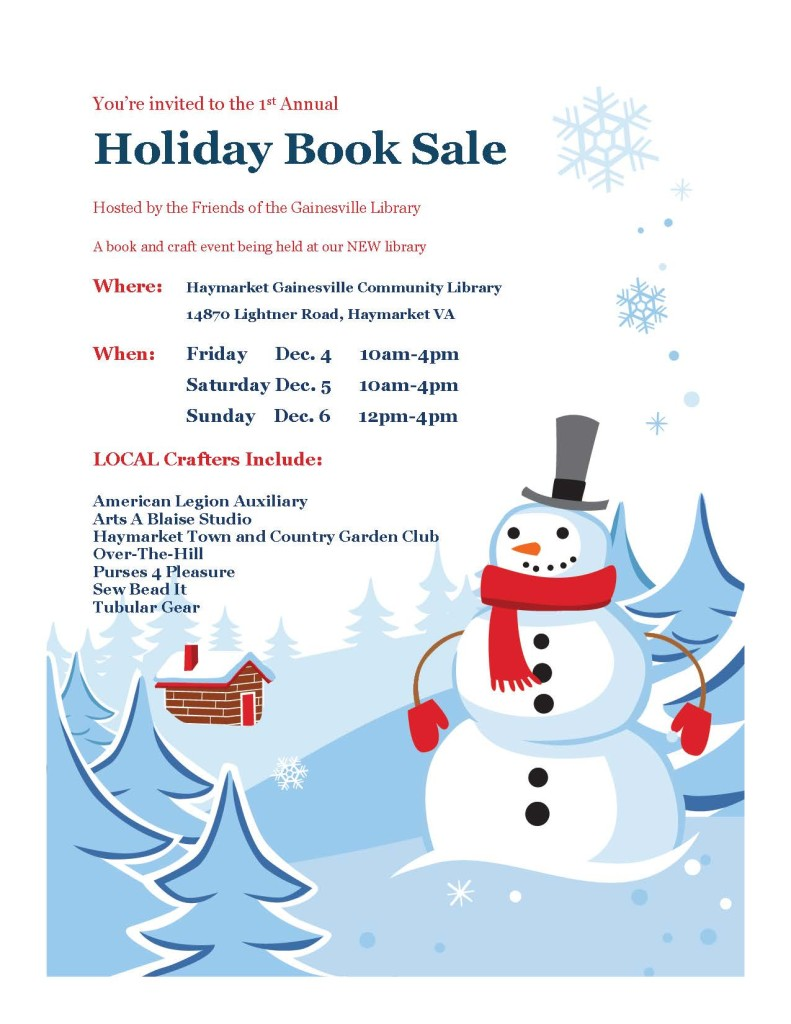 holiday book sale 2015